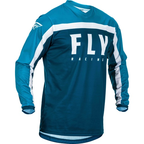 FLY 2020 F-16 Jersey (Youth Navy/Blue/White)