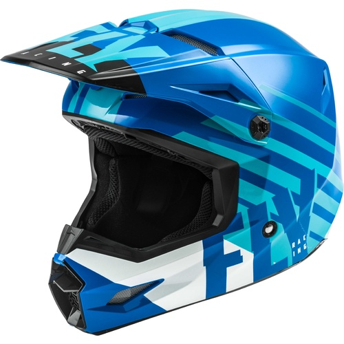 FLY 2020 Kinetic Thrive Helmet (Blue/White)
