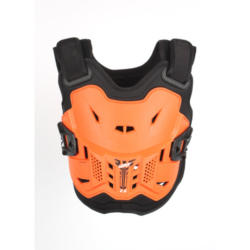 LEATT 2019 2.5 Chest Protector (Junior Orange/Black)