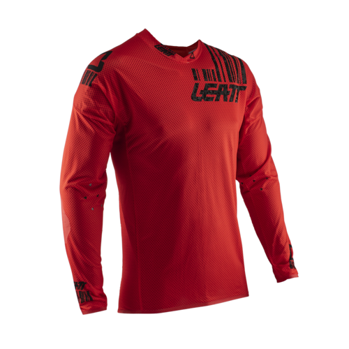 LEATT 2020 GPX 5.5 Ultraweld Jersey (Red/Black)