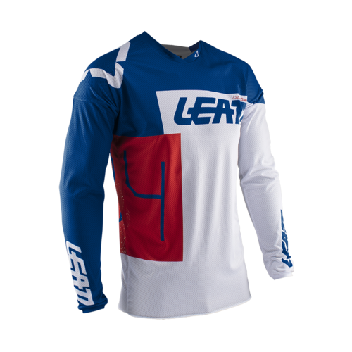 LEATT 2020 GPX 4.5 Lite Jersey (Royal/White/Red)