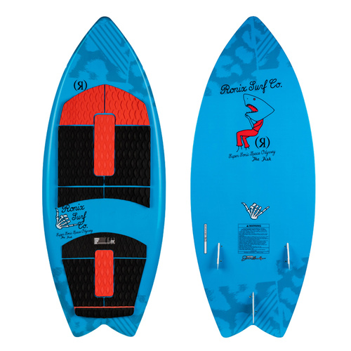 RONIX 2020 Super Sonic Space Odyssey (Fish - Kids)